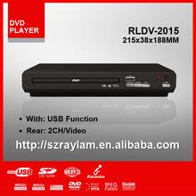 Smallest Cheap Sarmt USB Home DVD Player Plastic Protable DVD Player