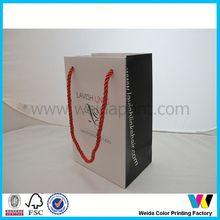 custom made fashionable shopping bag carrier