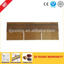 3-tab colorful fiberglass asphalt shingle