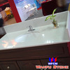 Cheap Artificial Stone Vanity Tops Quartz Washstand Vanity /Quartz Bathroom Countertops