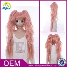 High Density Japanese anime Dangan-Ronpa pink wig cosplay
