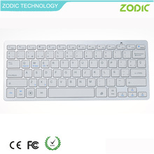 plastic wireless bluetooth keyboard for tablet PC