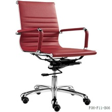 Fashionable wholesale office Mid Back Chair with wheels(FOH-F11-B06)