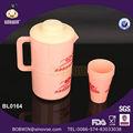 2.1L grande capacidade de plástico jarro de água jarro