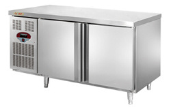 Horizontal air cooling refrigerator/restaurant refrigerated equipment/chiller used