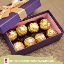 Cheap Custom Luxury Chocolate Box/Chocolate Packaging Box
