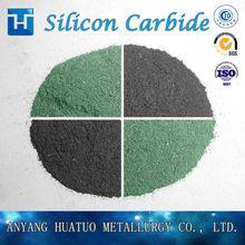 Nano Silicon Carbide F1000 F1200 F1500 Sand Mesh Size Powder Black and Green SiC