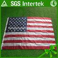 La bandera de estados unidos venta al por mayor del poliester primera de la bandera americana fabricante