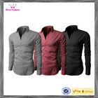 Cotton&Spandex Men's Wrinkle Dry Fit Designer Shirt