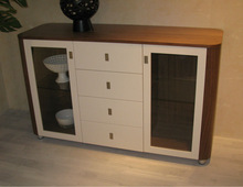 Cabinet & Buffet with white glossy