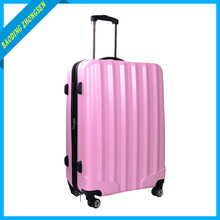 Light Pink Color Man And Lady Bussiness And Leisure Vintage Universal Wheel Travel Trolley Luggage