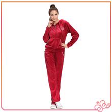 Factory Price Velour Woman Hoodies 2014 Latest Ladies Top Designs