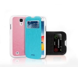 flip leather case for samsung galaxy s4