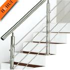 free sample galvanized steel pipe balcony railing ,steel pipe stair handrail C169