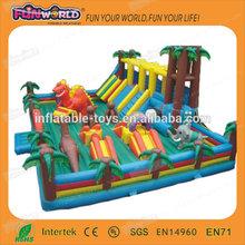 Outdoor amusement park fun land CE commercial wholesale Inflatable fun city