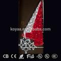 Pared decoraciones de Navidad con luces LED nuevos productos calientes para 2014