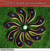 Waterproof Golf Iron Cover with zipper