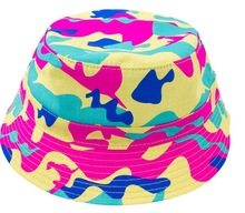 Pink Dolphin Camo Multi Bucket Hat