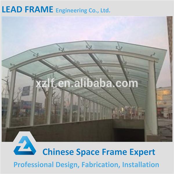 Prefabricated Large Span Steel Truss Canopy Buy Truss