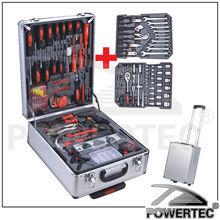 POWERTEC 186pcs Hand Tool Kit With Aluminium Case