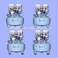 Dynair DA5001 por una sola unidad dental de desplazamiento del compresor de aire