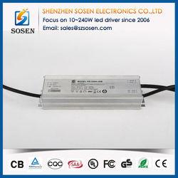 Good quality 5.0A waterproof ip67 led bulb driver