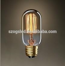 Brass Base Material and E26/E27/B22 Base Vintage Edison Bulb ce&rohs