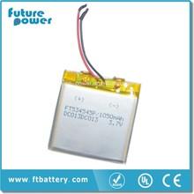 Good quality Lithium mobile battery/ battery for mobile phone 3.7v 1050mah