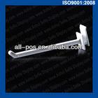High quality plastic slatwall hooks for display