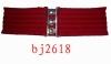 7cm red elastic belt