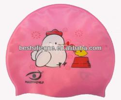New silicone swimming cap