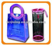 PVC gift bag with handle