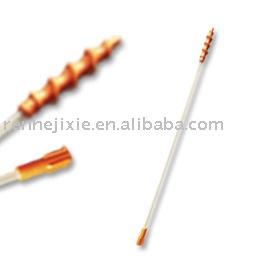Spiral catheter for insemination catheter