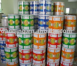 Plastic food packaging film