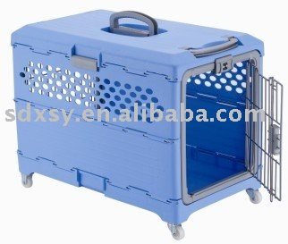 Plastic Pet dog cage