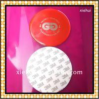 58mm round epoxy sticker(strong stick)