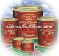conservas de pasta de tomate