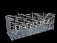 Heavy Duty Galvanized Steel Storage Container Bins