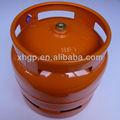 6kg de glp de acero del cilindro para el mercado de ghana