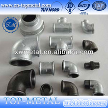 Malleable iron pipe fittings iso