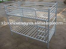 Separable metal l shaped bunk bed