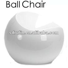 lovely ABS plastic ball stool/apple chair