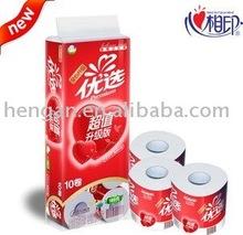 100% Virgin Wood Pulp Toilet Roll tissue paper
