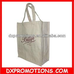 OEM canvas bag/canvas shopping bag/cotton canvas bag