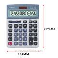 16 رقما المزدوج الطاقة سطح المكتب عرض كبيرة حاسبة للاستخدام التجاري