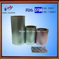 Pharmacetical ptp papel de aluminio para el embalaje médico con la norma iso& certificado de la fda