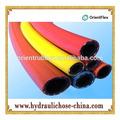 De alta presión de pvc de glp de gas de la manguera de tuberías/reforzado con fibra de gas industrial del producto