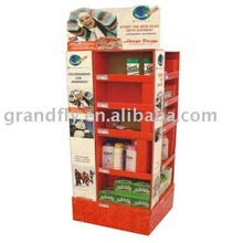 Retail cardboard corrugated pallet display boxes