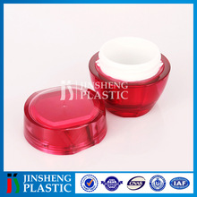 Best selling ISO9001 certified Plastic Fancy acrylic jars and lids