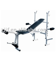Flodable multi functional weight bench/fitness equipment gym